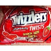 twizzlers twists strawberry snack