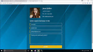 foxlearn asp net mvc create contact