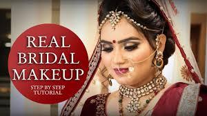 real bridal makeup tutorial step by