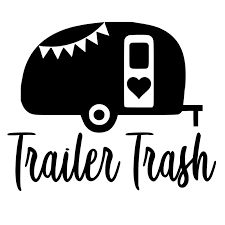 Trailer Trash Camper Car Stickers Fashion Personality Humour Funny Vinyl Decor Decals Car Styling Stickers Car Stickers Aliexpress