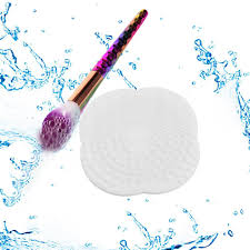 suction cup silicone makeup brush