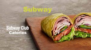 subway club calories nutrition facts