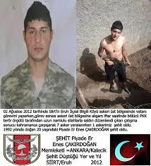 Vatanı, Bayrağı ve MiIIeti için şehit... - Türkiye Şehitleri
