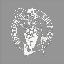 Boston Celtics Nba Team Logo 1color Vinyl Decal Sticker Car Window Wall Ebay