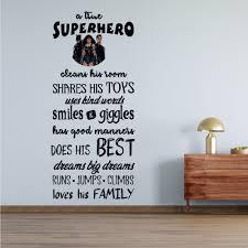 Vinyl Adhesive Superhero Quotes Wall Decal 20 X 40 Removable Home Decor Superman Batman Wonder Woman Dc Comics Justice League Design Kids Bedroom Living Room Sticker Decoration Walmart Com Walmart Com
