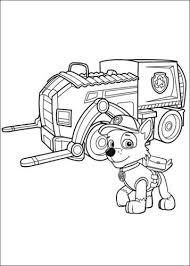 Kids N Fun 23 Kleurplaten Van Paw Patrol