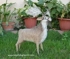 Needle Felted Irish Elk (Melagolcero) by Noemi Smith – LIVING FELT ...