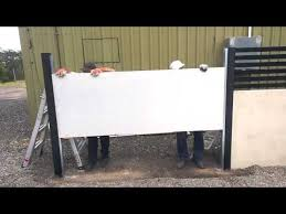 Quickbuilt Acoustic Fence System Installation Video Youtube