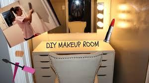diy makeup room you