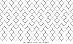 Chain Link Fence Vector Images Stock Photos Vectors Shutterstock
