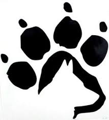 German Shepherd Dog Paw Print Car Truck Window Vinyl Decal Sticker 12 Colors Ebay