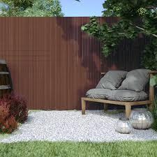 Pvc Screen Border 13 Mm Screen Fence Garden And Terrace Domondo