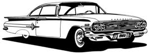 60 Chevy Impala Decal Classic Cars Window Stickers Wildlife Decal