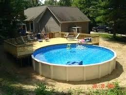 pool deck decorations