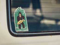 Bigfoot Sticker Yakoda Supply