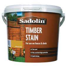 Sadolin 5l Timber Stain Paint Autumn Gold Leekes