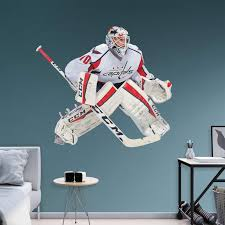 Fathead Nhl Washington Capitals Braden Holtby Wall Decal Walmart Com Walmart Com