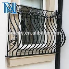 Iron Windows Design Modern Style Wrought Iron Fence For Villa Balcony Railing Iron Grill Design For Veranda Buy New Window Grill Design Iron Grill Design For Balcony Iron Grill For Balcony Product On Alibaba Com
