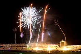 bonfire night and fireworks displays in
