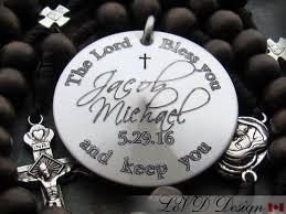 catholic gift personalized rosary