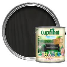 Cuprinol Garden Shades Black Ash Matt Wood Paint 2 5 Departments Diy At B Q