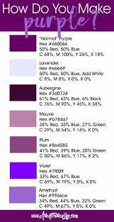 what colors make purple artsy sy