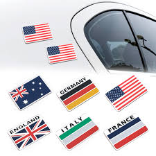 Philippine Flag Car Auto Alloy Emblem 3d Decal Car Sticker