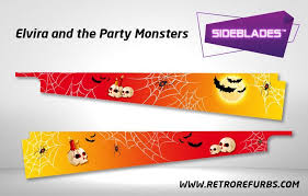 Elvira And The Party Monsters Pinball Sideblades Retro Refurbs