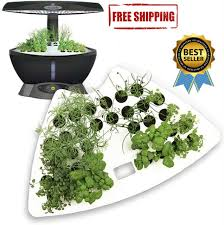 aerogarden 7 pod led indoor hydroponic