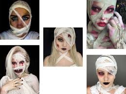 very scary mummy makeup looks