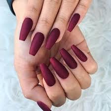 70 trendy burgundy nails designs ideas