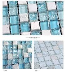 glass unique broken mosaic sauna spa