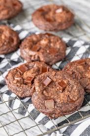 easy brownie mix cookies 3 ings