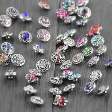 mix styles colors 12mm small on