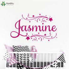 Best Value Wall Decal With Name Girls Great Deals On Wall Decal With Name Girls From Global Wall Decal With Name Girls Sellers 1 On Aliexpress