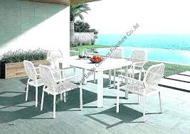 outstanding 7 pc balcony height dining