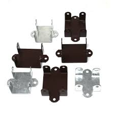Easy Use Fence Panel Brackets 47mm 52mm Brown Or Galvanised Clips Bracket Ebay