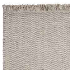 maui oatmeal herringbone rug