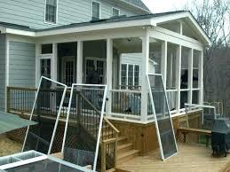 enclosed patios designs image of porch