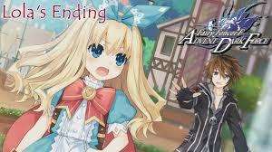 Lola S Ending Fairy Fencer F Advent Dark Force Evil Goddess Route English Full 1080p Hd Youtube