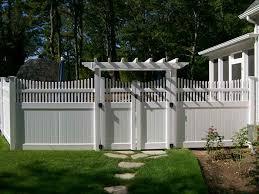 Wesley Chapel Vinyl Fence