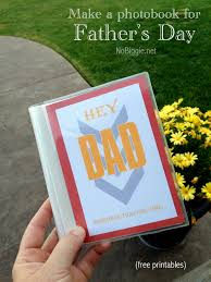 father s day photo book gift idea