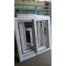 white upvc window frame size dimension