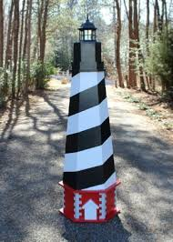 cape hatteras lawn lighthouse diy wood