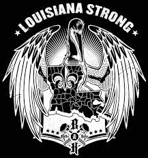 Louisiana Flood Relief Louisiana Strong Die Cut Decal Multiple Sizes Bolts Hose