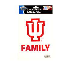 Ncaa Indiana University Family Decals