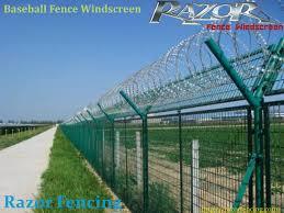 Baseball Fence Windscreen By Razor Fencing Issuu