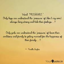 word pressure only boys quotes writings by paridhi
