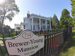 Mary Ida Young descendants tour refurbished Brewer-Young Mansion ...