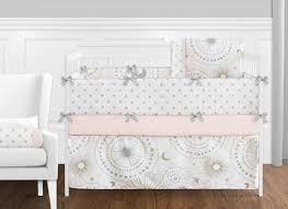 9 pc blush pink gold grey and white